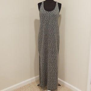 BANANA REPUBLIC Size M Black/White Maxi Dress